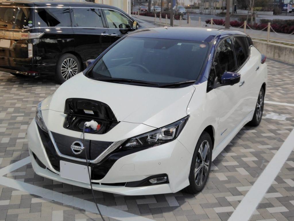 Nissan's Leaf ที่กลายเป็นหนึ่งในรถยนต์ EV ที่ขายดีที่สุด