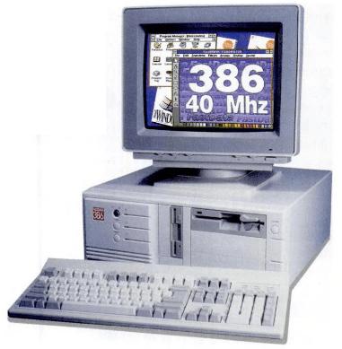 PC 386 เครื่องคอมพิวเตอร์สุดแรงในยุคนั้น