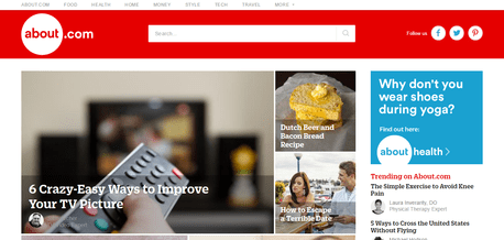 About.com กับการบุกโลกดิจิตอลออนไลน์ของ Times