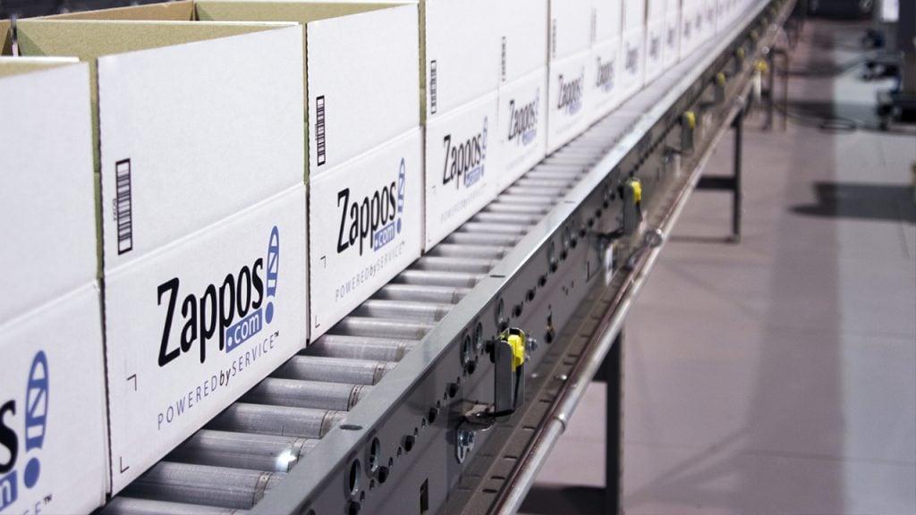 Zappos ยังพึ่งพาผู้จัดจำหน่ายรายใหญ่อยู่