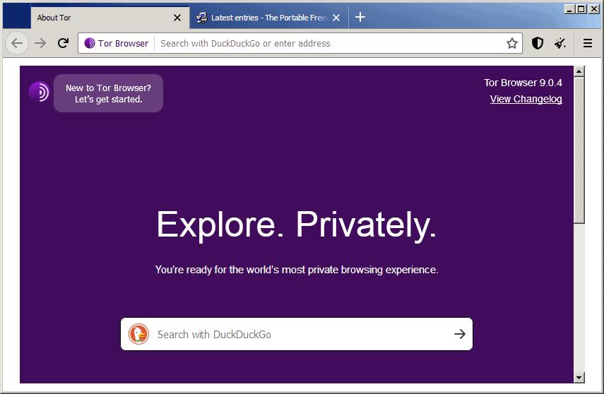 Tor ที่เป็น Web Browser ที่ใช้ในการปกปิดตัวตน