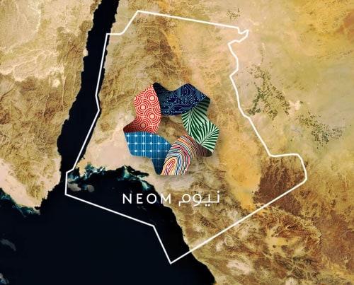 เปลี่ยนพื้นที่ทะเลทรายอันอ้างว้างเป็นเมืองนวัตกรรมใหม่ NEOM