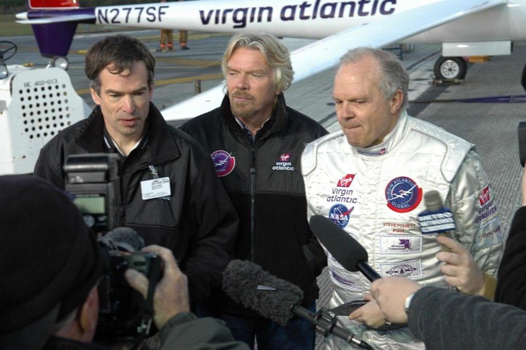 Branson ยกเลิกการลงทุนมูลค่า 200 ล้านดอลลาร์ในบริษัทท่องเที่ยวอวกาศ