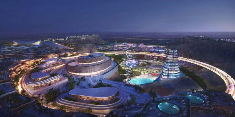 Qiddiya เมืองแห่งความบันเทิงใหม่ในซาอุดิอาระเบีย