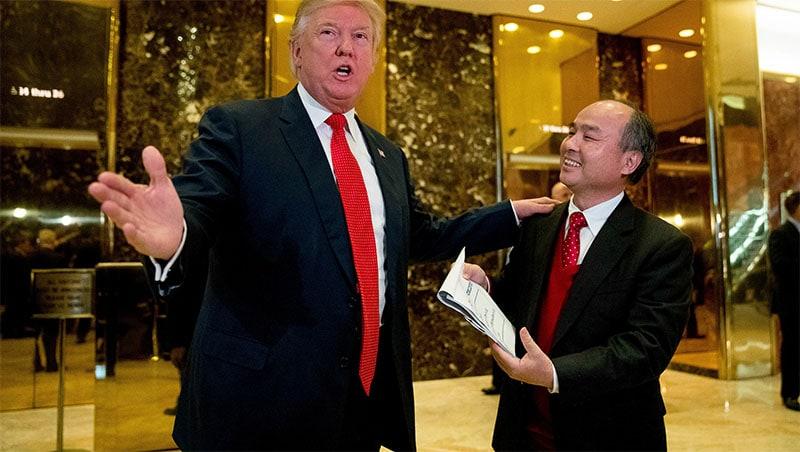 Son เข้ามาร่วมลงทุนและสร้างงาน 5 หมื่นตำแหน่งในสมัยของ Trump (CR:jsonline.com)