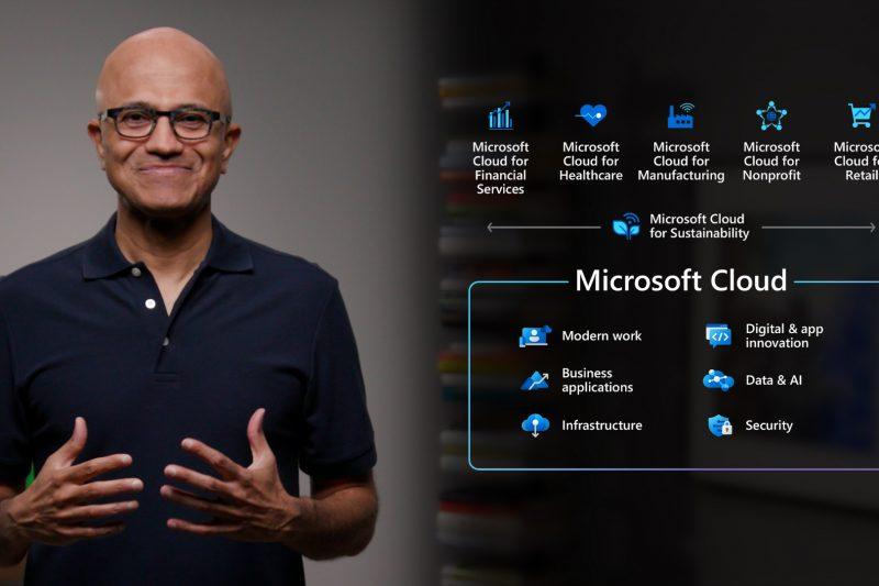 การได้เข้ามาดูแลธุรกิจหลักอย่าง Cloud นี่เองที่ผลักดันให้เขาขึ้นเป็น CEO ได้สำเร็จ (CR:Microsoft News)