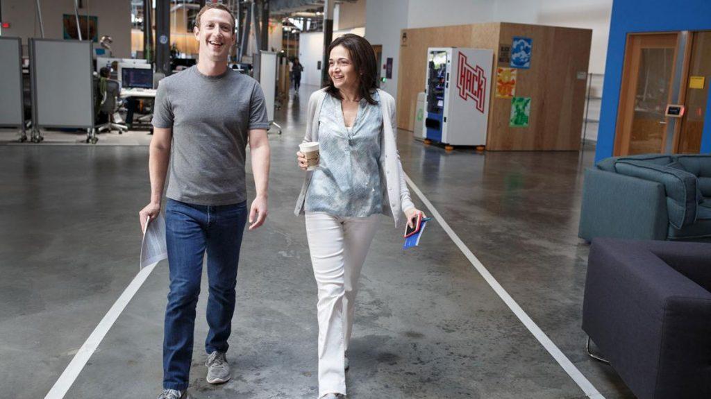Mark Zuckerberg ไว้วางใจ Sanberg เป็นอย่างมาก (CR:The Times)
