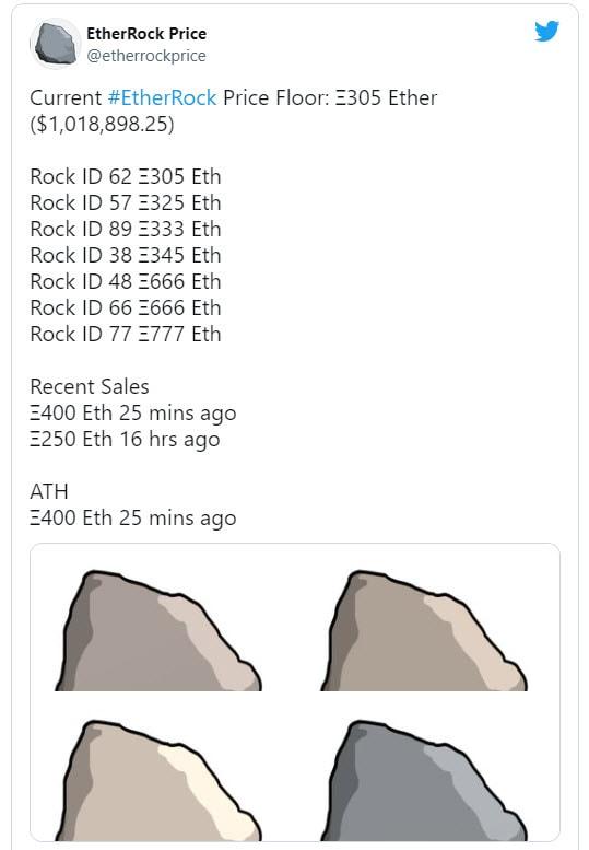 ภาพก่อนหินที่มีจำนวนจำกัดแค่ 100 ก้อน (CR:Twitter)