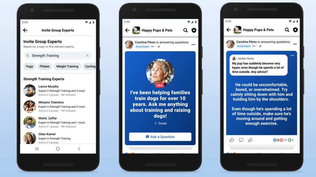 Facebook เริ่มให้ความสำคัญกับกลุ่มมากยิ่งขึ้น (CR:Engadget)