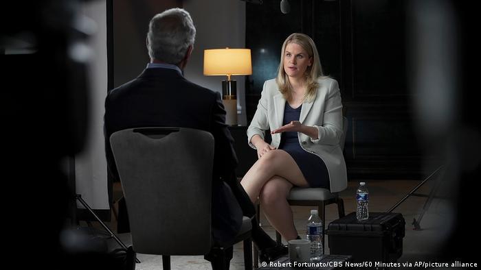 Frances Haugen ที่ทนไม่ไหวจนต้องมาแฉบริษัทเก่าของตัวเอง (CR:CBS 60 minutes)