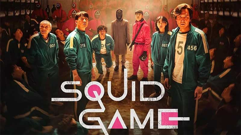 Squid Game ซีรีส์สุดฮิตที่ทำให้เกิดทราฟฟิกมหาศาล (CR: WallpaperAccess)