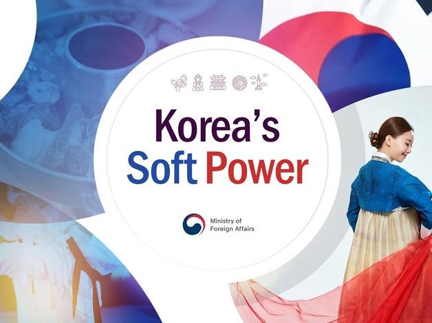 รัฐบาลเกาหลีที่ให้ความสำคัญกับพลังของ Soft Power (CR:overseas.mofa.go.kr)